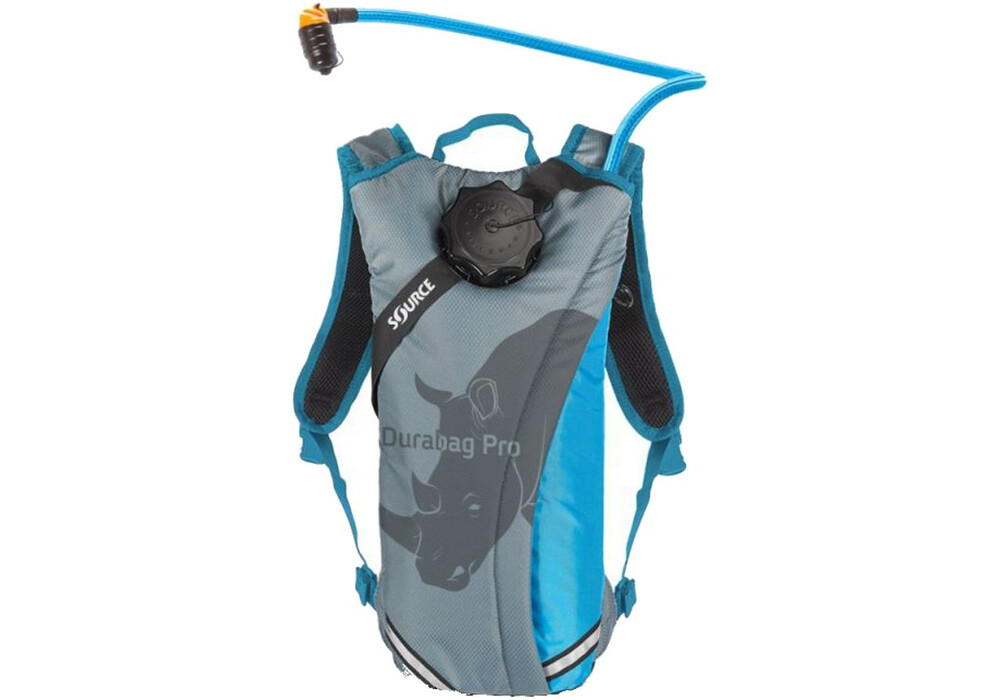 source durabag pro trinkrucksack 2l gray light blue online kaufen. Black Bedroom Furniture Sets. Home Design Ideas