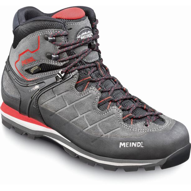 Meindl Litepeak GTX Shoes Herr graphite/dark red