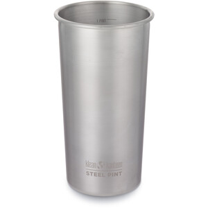 Klean Kanteen Pint Becher 592ml brushed stainless brushed stainless