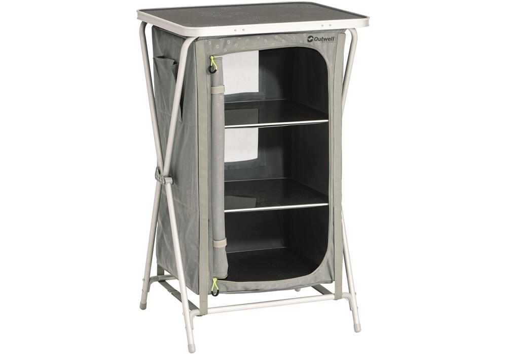 outwell domingo armoire de camping gris sur. Black Bedroom Furniture Sets. Home Design Ideas