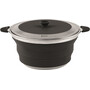 Outwell Collaps Topf with Lid 4500ml midnight black
