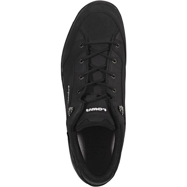 Lowa Renegade GTX Low-Cut Schuhe Herren schwarz/graphit