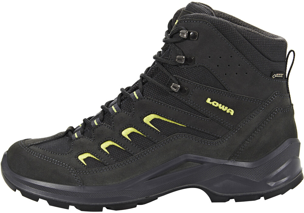 Lowa Sesto GTX Mid Shoes Men anthrazit/limone | campz.ch