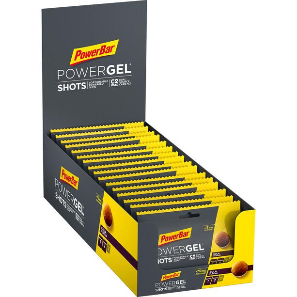 PowerBar PowerGel Shots Box 16 x 60g Cola mit Koffein