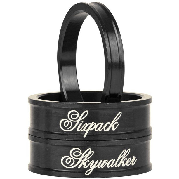 "Sixpack Skywalker Spacer 1 1/8"" stealth-black"
