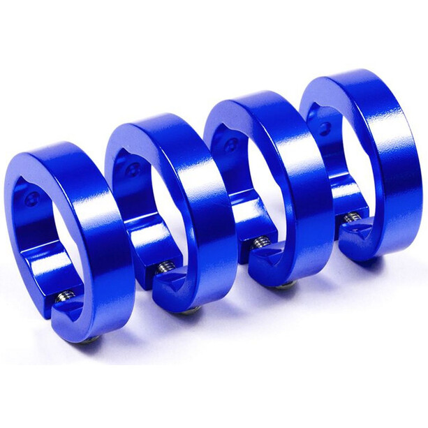 Sixpack Spare clamping rings blue