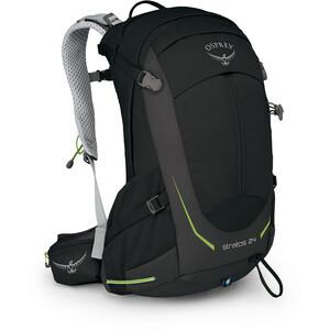 Osprey Stratos 24 Backpack Herr svart svart
