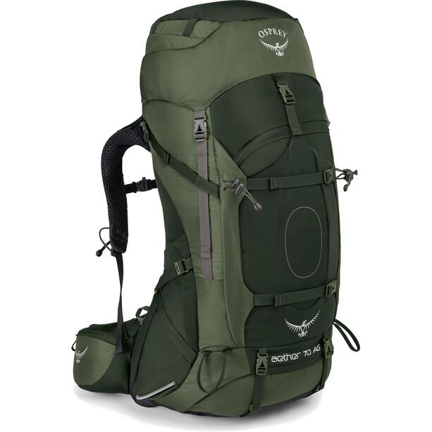 Osprey Aether AG 70 Backpack Herr adriondack green