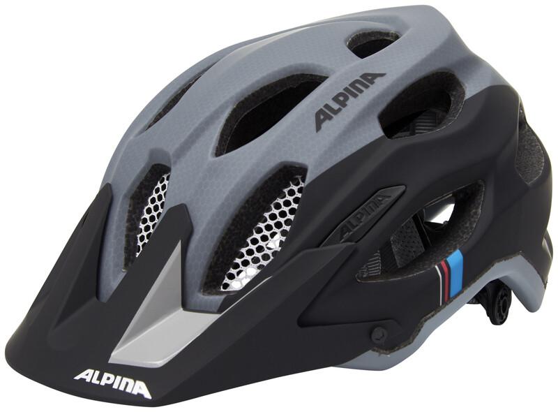 Alpina Carapax Helmet black-grey 53-57cm 2018 Fahrradhelme