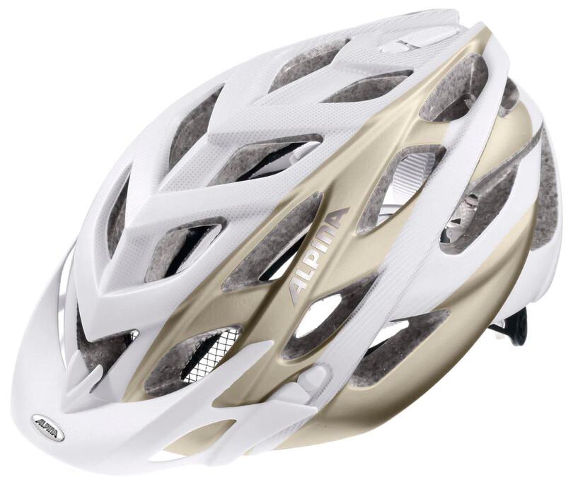 Alpina D-Alto L.E. Helmet white-prosecco 52-57cm 2018 Fahrradhelme