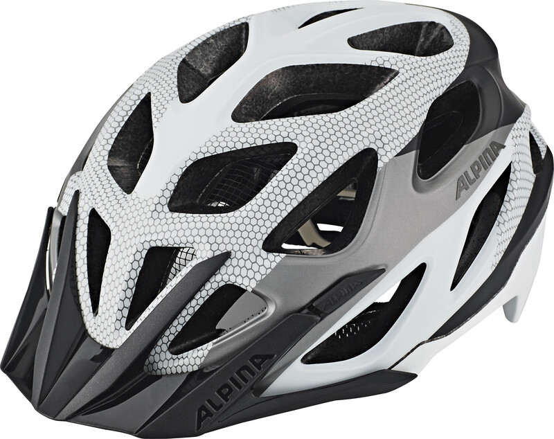 Alpina Mythos 3.0 L.E. Helmet black-white 52-57cm 2018 Fahrradhelme