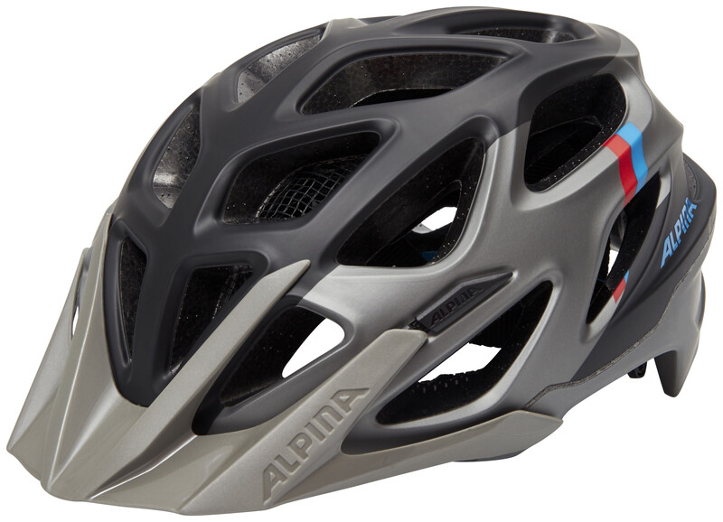 Alpina Mythos 3.0 L.E. Helmet dark silver-blue-red 59-64cm 2018 Fahrradhelme