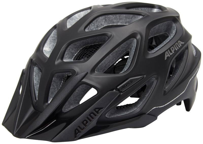 Alpina Mythos 3.0 L.E. Helmet black matt 52-57cm 2018 Fahrradhelme
