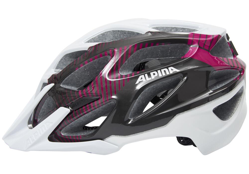 alpina mythos 3 0 helmet white purple titanium g nstig kaufen bei. Black Bedroom Furniture Sets. Home Design Ideas