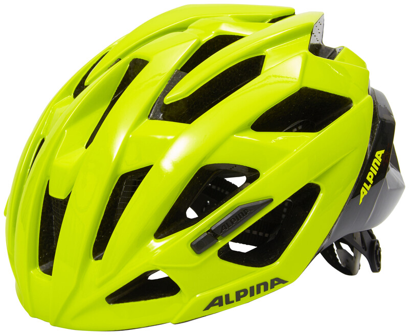 Alpina Valparola RC Helmet be visible 55-59cm 2018 Fahrradhelme