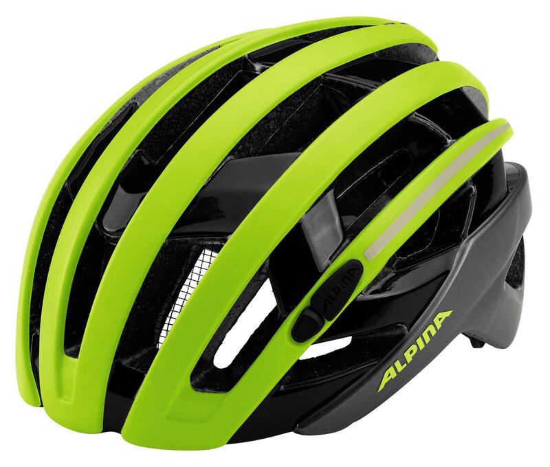 Alpina Campiglio Helmet be visible 55-59cm 2018 Fahrradhelme