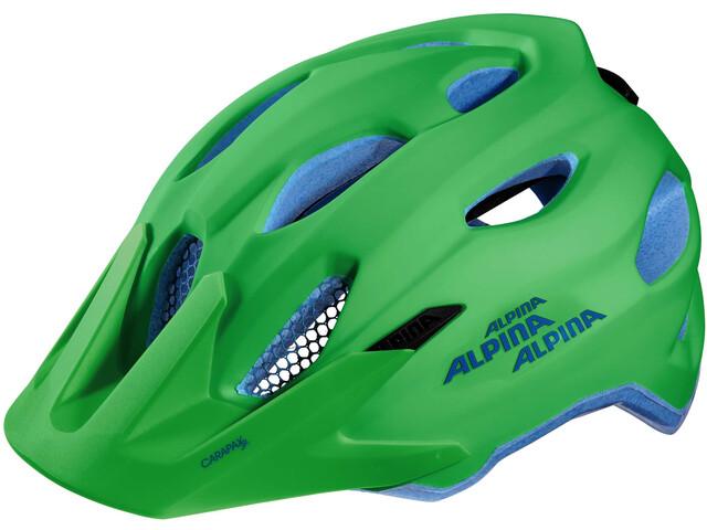 alpina carapax jr helmet green blue online bei. Black Bedroom Furniture Sets. Home Design Ideas