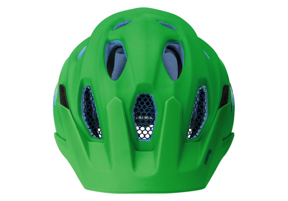 alpina carapax jr helmet green blue online kaufen. Black Bedroom Furniture Sets. Home Design Ideas