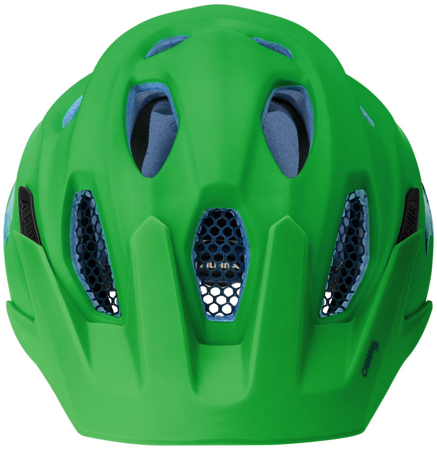 alpina carapax jr casco de bicicleta ni os verde. Black Bedroom Furniture Sets. Home Design Ideas