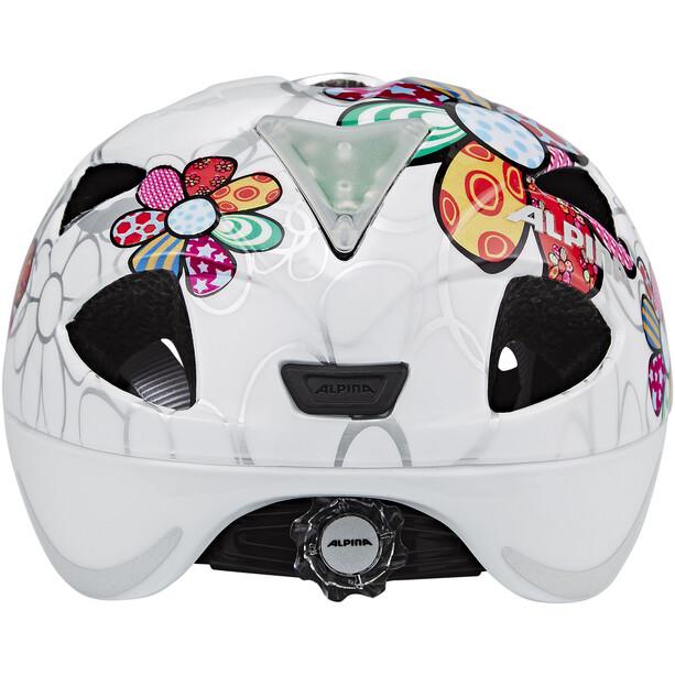 Alpina Ximo Flash Helm Kinder weiß/bunt
