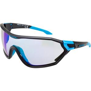 Alpina S-Way VLM+ Sonnenbrille black matt-cyan black matt-cyan