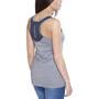 Peak Performance Black Light Logo T-paita Naiset, grey melange