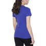 Odlo Signo Kurzarm Rundhalsshirt Damen spectrum blue-placed print ss17