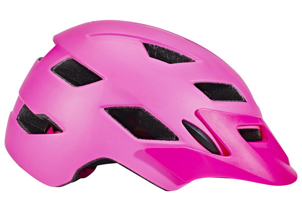 bell sidetrack helmet child mat pink lime online kaufen. Black Bedroom Furniture Sets. Home Design Ideas