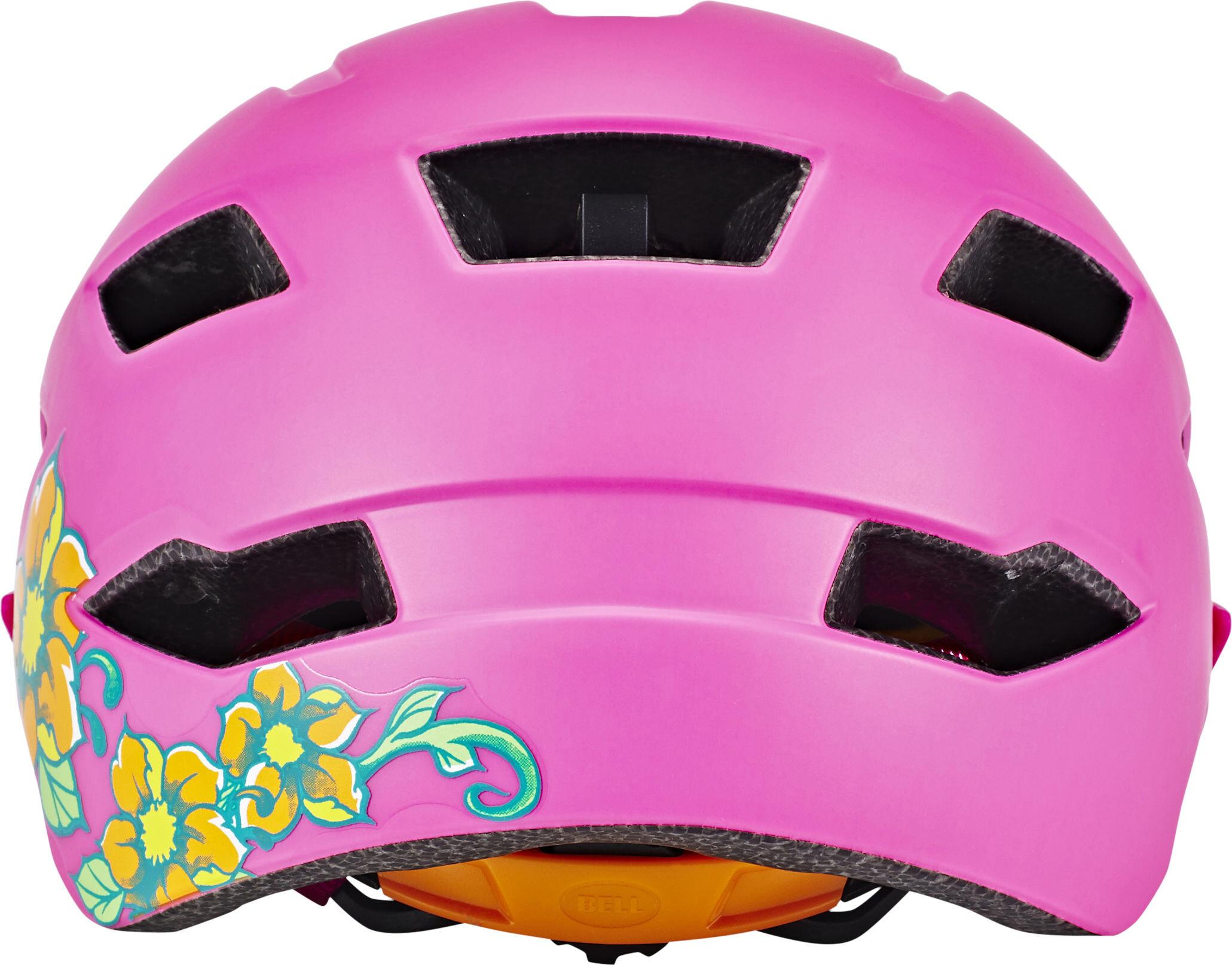bell sidetrack helmet child matte pink lime online. Black Bedroom Furniture Sets. Home Design Ideas