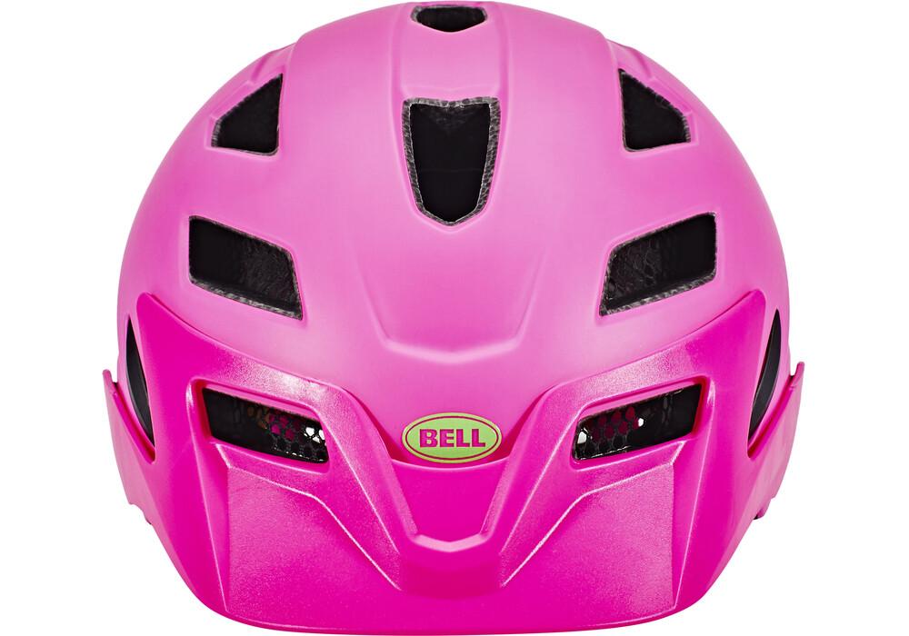 bell sidetrack helmet child mat pink lime online bestellen. Black Bedroom Furniture Sets. Home Design Ideas