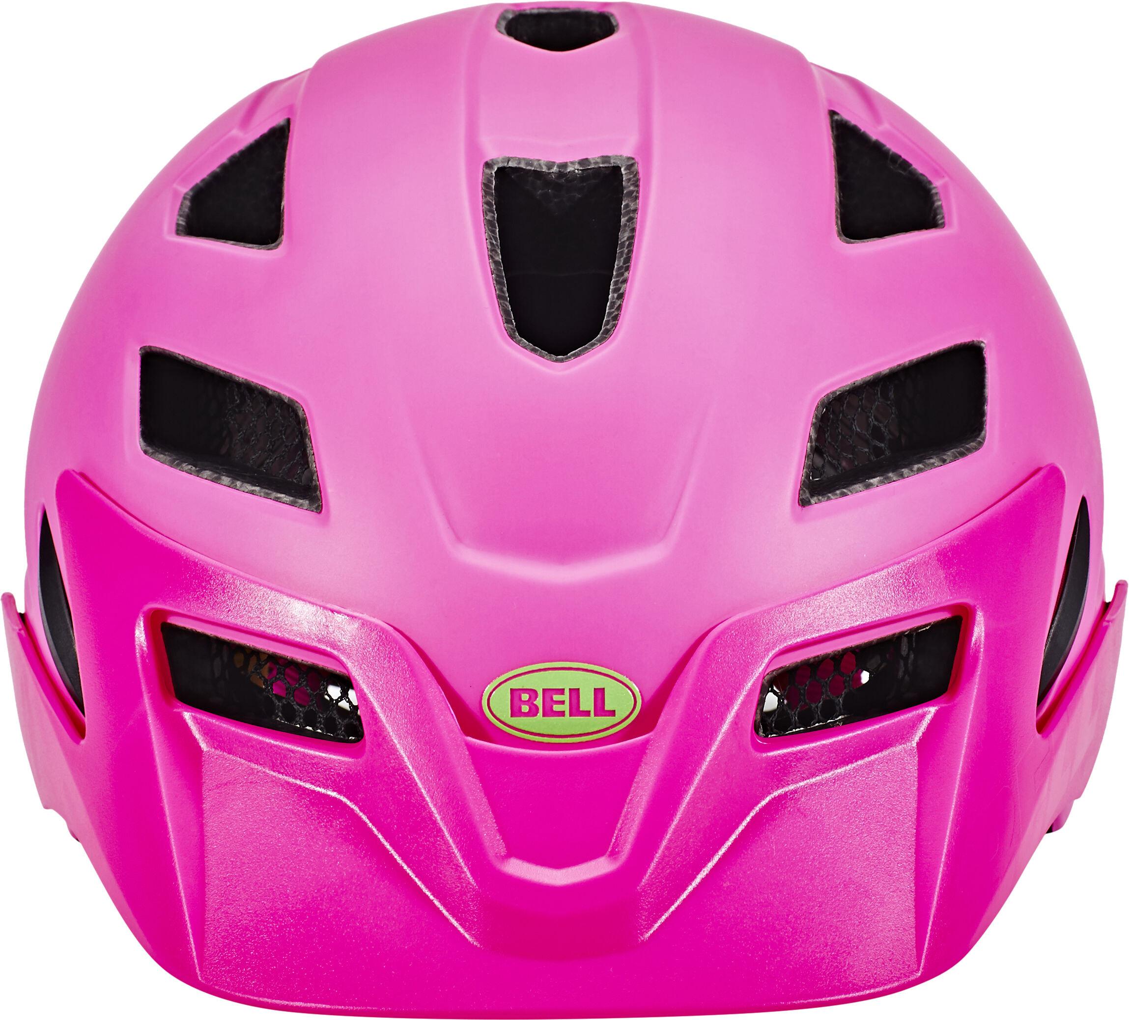 bell sidetrack helmet child matte pink lime g nstig kaufen. Black Bedroom Furniture Sets. Home Design Ideas