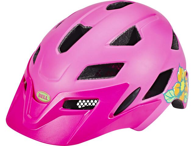 bell sidetrack helmet child matte pink lime online kaufen. Black Bedroom Furniture Sets. Home Design Ideas