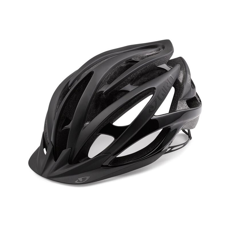 Giro Fathom Helmet matte black/gloss black 55-59 cm 2018 Fahrradhelme