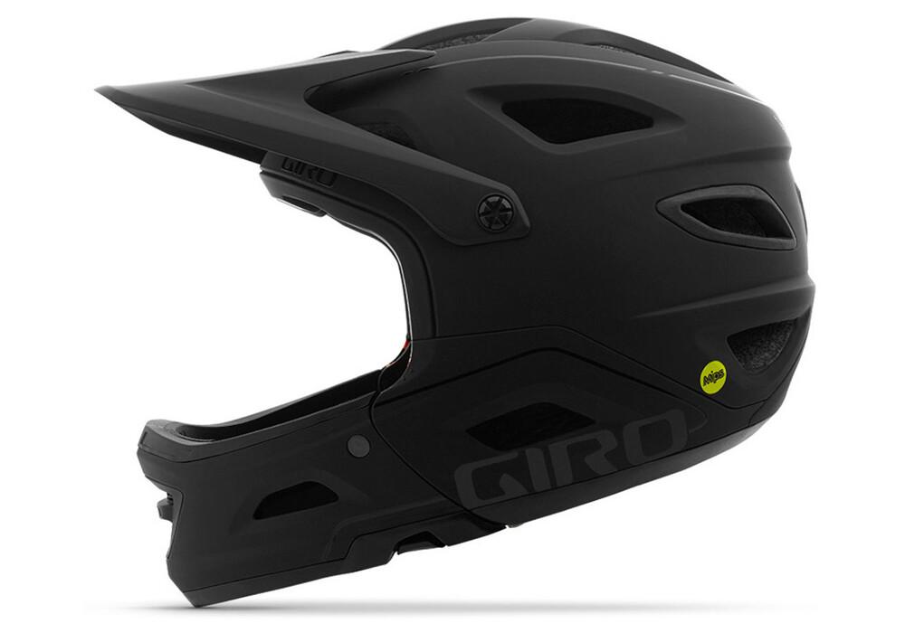 giro switchblade mips fullface helmet mat gloss black online kaufen. Black Bedroom Furniture Sets. Home Design Ideas
