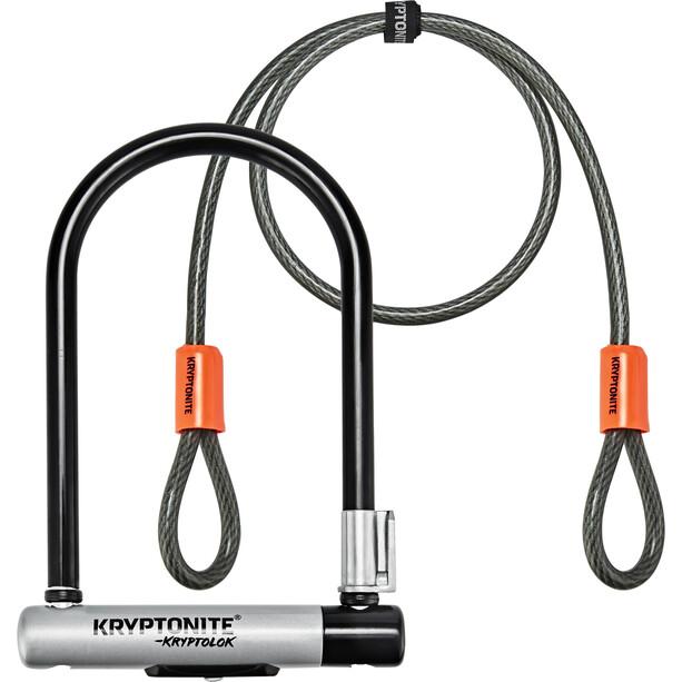 Kryptonite KryptoLok Mini-7 Cykellås + Kryptoflex