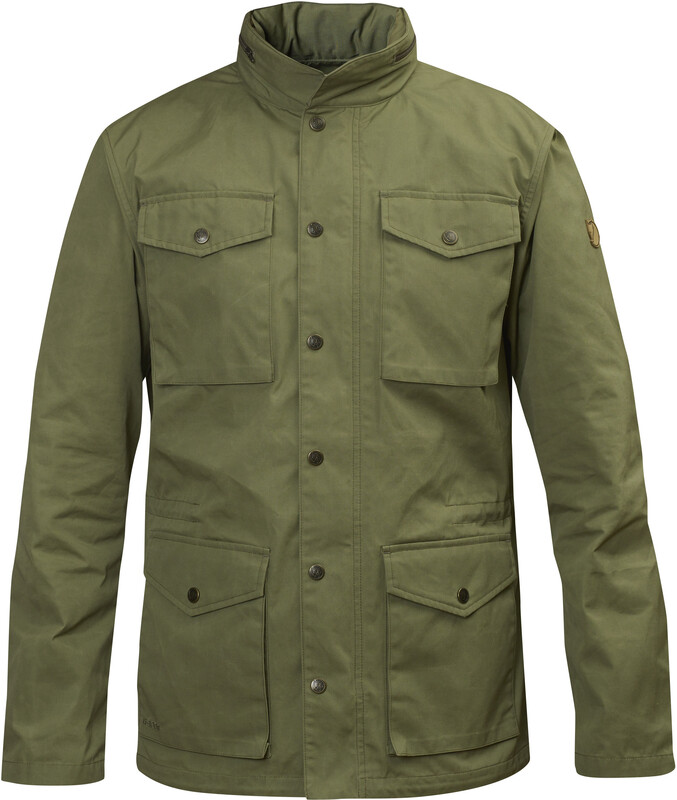 Fjällräven Räven Jacket Men Green Freizeitjacken S 82422-620-S
