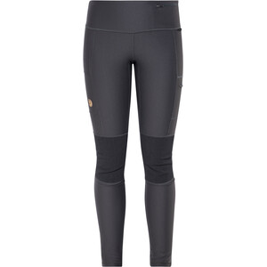 Fjällräven Abisko Trekking Tights Damen dark grey dark grey