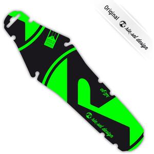 Riesel Design rit:ze Garde-boue arrière, green green