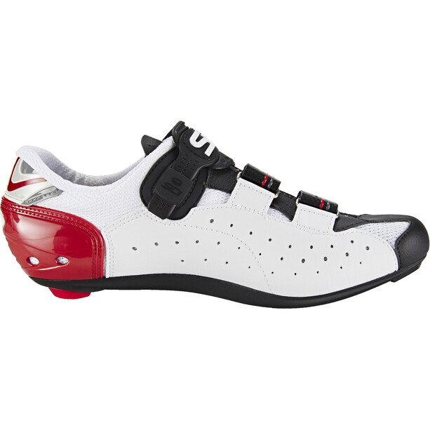 Sidi Genius 7 Shoes Herr white/black/red