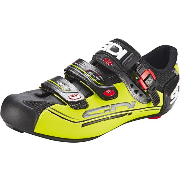 Sidi Genius 7 Mega Schuhe Herren black/yellow
