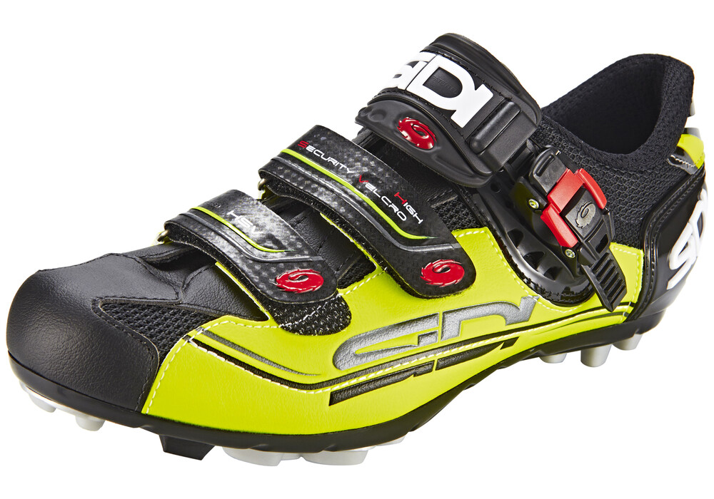 sidi mtb eagle 7 fahrradschuhe herren black yellow g nstig. Black Bedroom Furniture Sets. Home Design Ideas