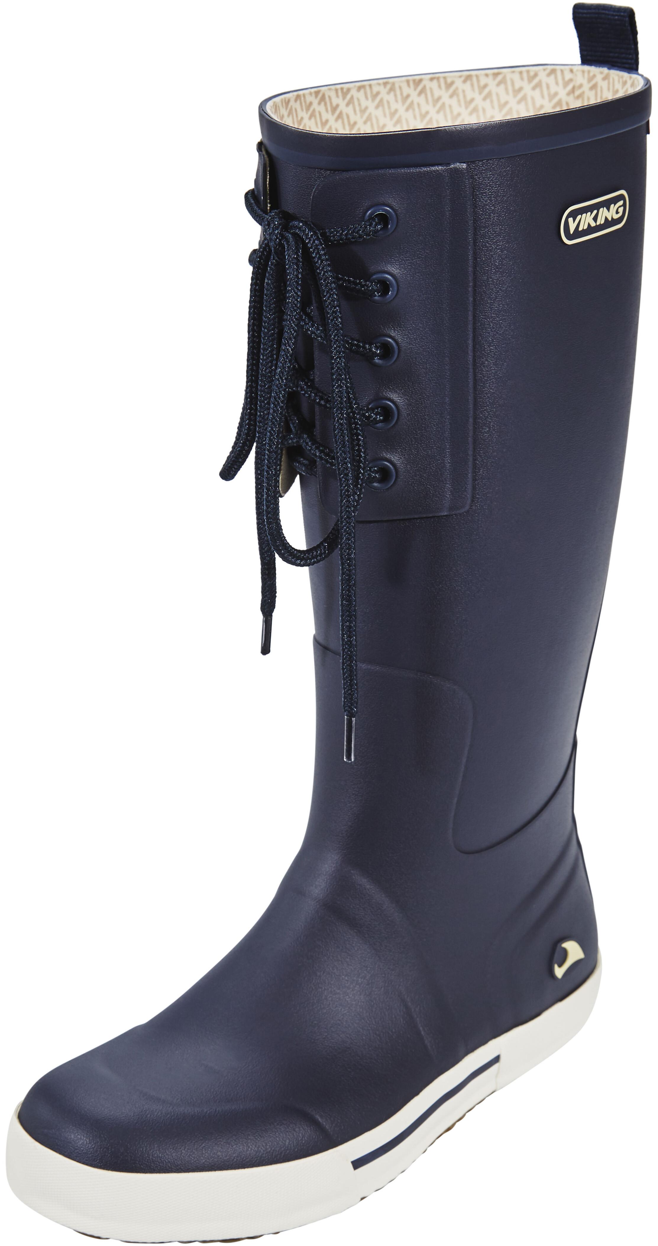 viking footwear lykke bottes en caoutchouc femme bleu. Black Bedroom Furniture Sets. Home Design Ideas