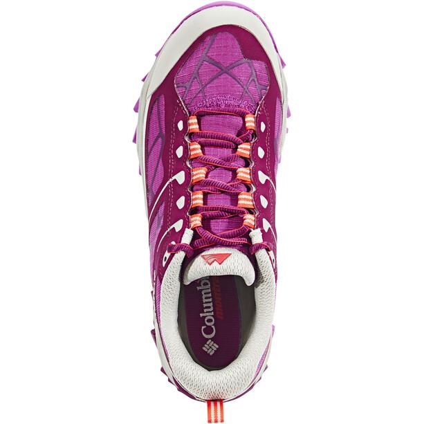 Columbia Trans Alps II Schuhe Damen dark raspberry/red camellia