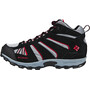 Columbia North Plains Mid Waterproof Schuhe Kinder grey ash/mountain red