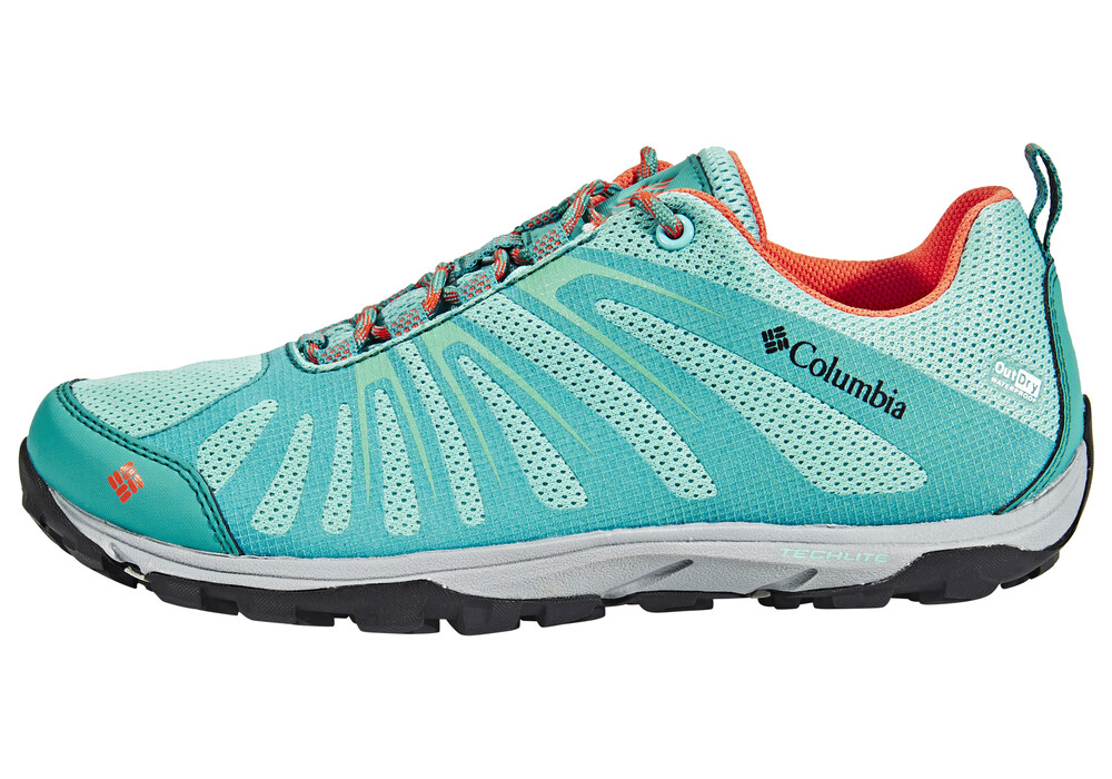 columbia conspiracy razor ii outdry chaussures femme turquoise sur. Black Bedroom Furniture Sets. Home Design Ideas