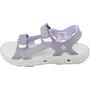 Columbia Techsun Vent Sandalen Kinder tradewinds grey/white violet