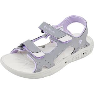 Columbia Techsun Vent Sandalen Kinder tradewinds grey/white violet tradewinds grey/white violet