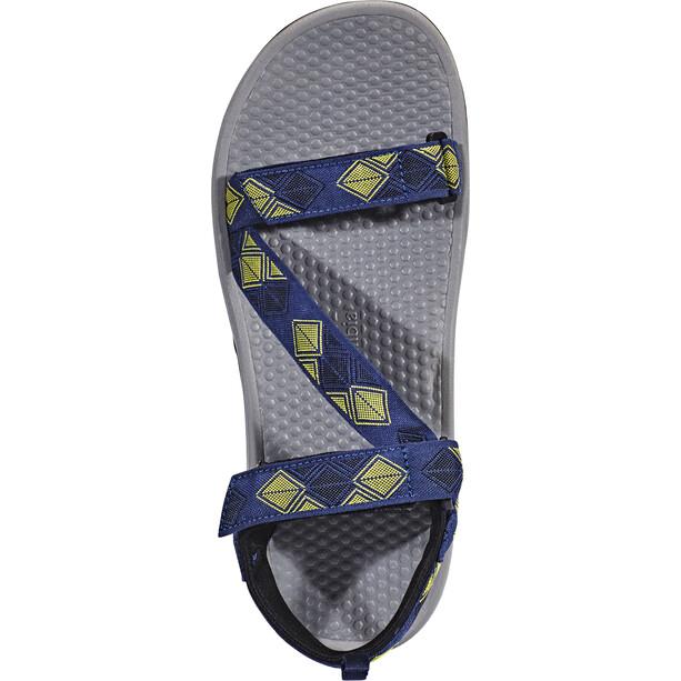 Columbia Wave Train Chaussures Homme, bleu/jaune