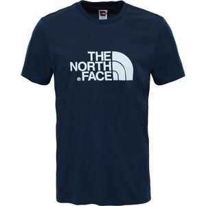 The North Face Easy Lyhythihainen T-paita Miehet, sininen sininen