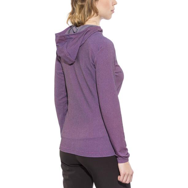 The North Face Tasaina Täysvetoketjullinen Huppari Naiset, violetti